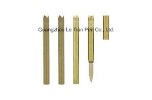Luxury Gold Metal Gel Pen with Cap Lt-L456 pictures & photos