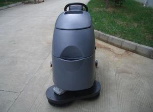 Automatic Two Brush Floor Scrubber for Office Building pictures & photos