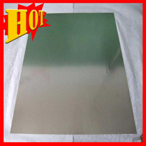 99.95% Tungsten Sheet/Plate for Sapphire Crystal Furnace pictures & photos