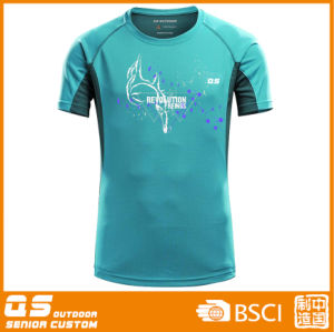 Men′s Fashion Solid Sport T Shirt pictures & photos