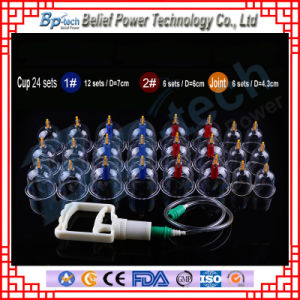 24 PCS Chinese Cupping Therapy Set pictures & photos