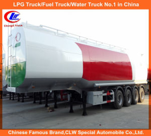 Clw 4 Axles Oil Transport Tanker Fuel Palm Oil Tanker Semi Trailers 60, 000 Liters for Sale pictures & photos
