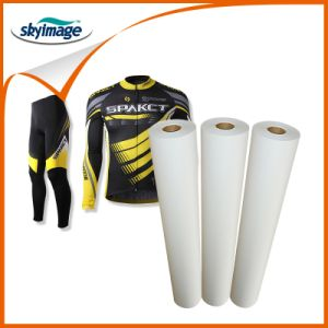 """24"""" 36"""" 44"""" 66"""" 70"""" 72"""" 100GSM Quick Dry Sublimation Adhesive Heat Transfer Paper Supplier for Polyester/ Elastic Fabric pictures & photos"""