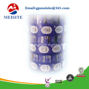 Food Grade CPP Metallic Laminate Popcorn Packaging Roll Film pictures & photos