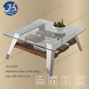 Nordic Modern Style Staninless Steel Coffee Table (JK-A1001) pictures & photos