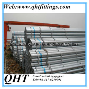 Q195 ERW Welded Pre-Galvanized Steel Fence Pipe and Tube pictures & photos