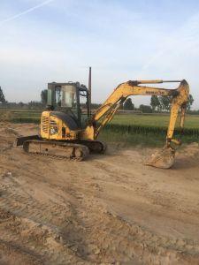 Used Machine Komatsu PC-55 Excavator