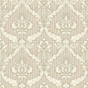 Damask PVC Deep Embossed Wallpaper (MK830105) pictures & photos