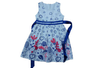 Fashion Girl Dress in Popular Children Clothing (SQD-135) pictures & photos