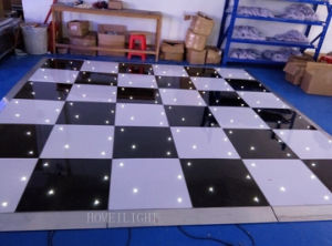 2015 The Hottest LED Star Dancing Floor with White&Black pictures & photos