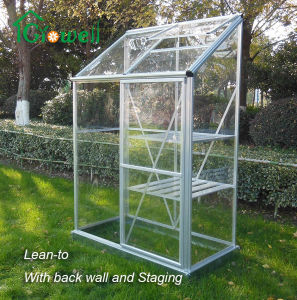 Wall-in Greenhouse Clear Panel Sliding Door pictures & photos