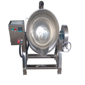 50L-1000 L Stainless Tiltable Jacketed Cooking Pot pictures & photos