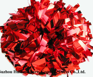 Metallic Red POM Poms pictures & photos