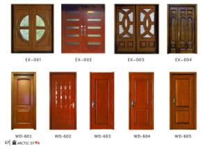 High Quality Solid Timber Door Fsc/Wooden Door New Design pictures & photos
