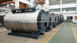 Shell Type, Horizontal, Three Pass Fire Tube Steam Boiler pictures & photos