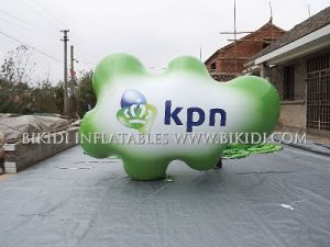 Advertising Giant Inflatable Helium Balloon/ Advertising Balloon for Sale, Cloud Helium Balloon with LED Lighting pictures & photos