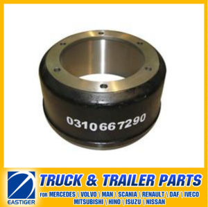 Trailer Parts of Brake Drum 0310667290 for BPW pictures & photos