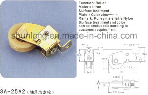 Nylon Roller for Sliding Window and Door/ Hardware (SA-25A2) pictures & photos