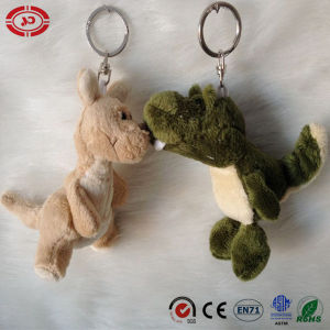 Kangaroo and Gator Lovely Couple Keychain Plush Toy pictures & photos