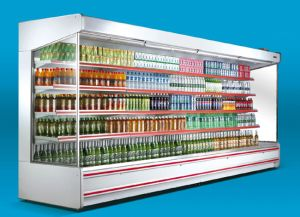 Split Wall-Cases Supermarket Showcase pictures & photos