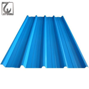 Prepainted Corrugated Galvanized Sheet PPGI for Roofing Material pictures & photos