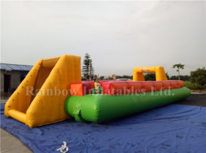 Indoor Inflatable Soccer Equipment, Inflatable Football Pitch Soccer Field for Sale pictures & photos