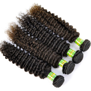 100% Human Hair Natural Brazilian Virgin Hair Extensions Kinky Curly Lbh 099 pictures & photos