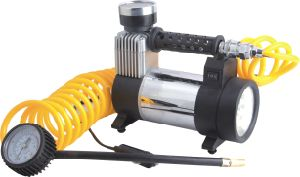 Compact and Fast Air Inflator Pressure Gauge 150 Psi Air Pump / Auto Repair Tire Tool Kit Portable 12volt Mini Compressor Air Pump pictures & photos