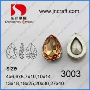 Drop Shaped Stone Pendant with Claw (DZ-3003) pictures & photos