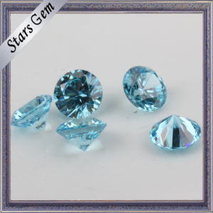 Fashion Jewellery Setting Aqua Blue Twinkling CZ Stone pictures & photos