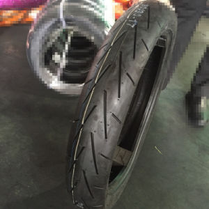 2016 New Pattern Motorcycle Tyre 90/90-17 Tubeless Tyre pictures & photos