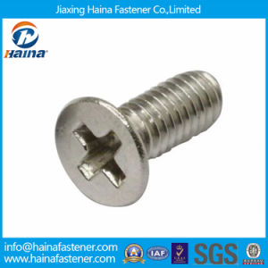 DIN965 Phillips Drive Countersunk Head Stainless Steel Machine Screws pictures & photos
