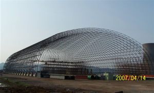 High Rise Prefab Bolt Ball Joints Coal Fire Power Plant Space Frame Steel Structure pictures & photos