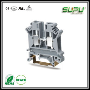 Rail-Mounted Terminal Blocks with Screw Clamp UK6n pictures & photos
