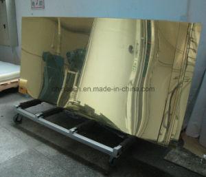 1mm Mirror Acrylic Sheet/Colored Mirror Acrylic Sheet/3mm Thickness Golden Mirror Acrylic Sheet/ Acrilico pictures & photos