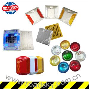 Popular High Quality Good Price Yellow Reflective Road Studs pictures & photos