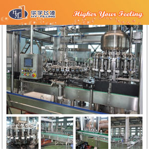 Hy-Filling Glass Mango Juice Hot Filling Machine pictures & photos