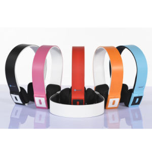 Stereo Wireless Music Bluetooth V3.0 Headset Headphone for Mobile Phone pictures & photos