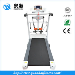 Hot Sale Home Motorized Treadmill Exercise Running Fitness Equipment Machine (QH-9920) pictures & photos