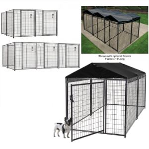 Manufacturer of Wholesale Welded Wire Mesh Cheap Large Dog Cage pictures & photos