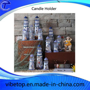 2016 New Design Tabletop Metal Candle Holder pictures & photos