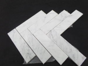 Natural White / Grey/Black Marble Mosaic Tiles for Kitchen / Bathroom Flooring pictures & photos