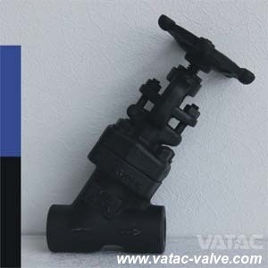 Forged A105/A105n Y Partten Globe Valve pictures & photos