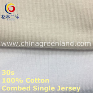 Single Jerseycotton Combed Knitting Fabric for Garment T-Shirt (GLLML418) pictures & photos