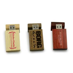 Wedding Gift Engraving/Printing Logo Wooden USB Memory Stick 8GB pictures & photos