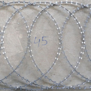 2.5 mm Galvanized Razor Barbed Wire pictures & photos