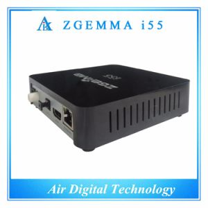 Air Digital High-Tech Zgemma I55 IPTV Box High CPU Dual Core Linux OS E2 USB WiFi Receiver pictures & photos