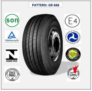 All Steel Radial Truck & Bus Tires with ECE Certificate 435/50r19.5 (GR666) pictures & photos