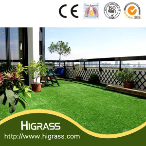 Good Quality Green Color Artificial Grass for Garden pictures & photos