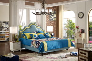 2017 Bedroom Furniture Fabric Modern Soft Bed Designs Jbl2003 pictures & photos
